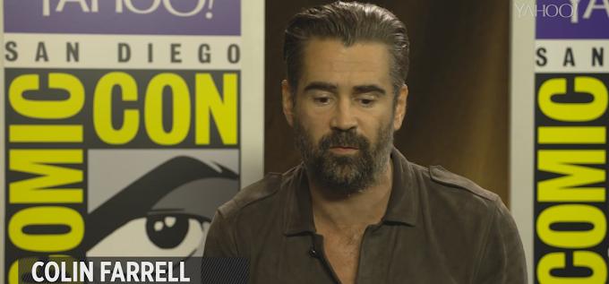 [TRADUÇÃO] Colin Farrell revela existência de grupo de No-Majs que perseguem a comunidade bruxa americana