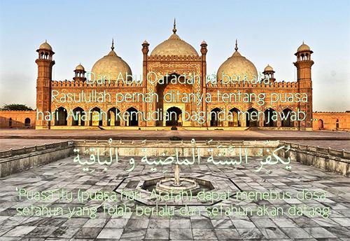 Niat Puasa Arafah Tarwiyah Tanggal 9-8 Sebelum Idul Adha 10 Hari Pertama Dzulhijjah