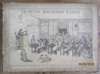 Malette jeu « La Petite Maîtresse d'Ecole, édition 1912 (collection musée)