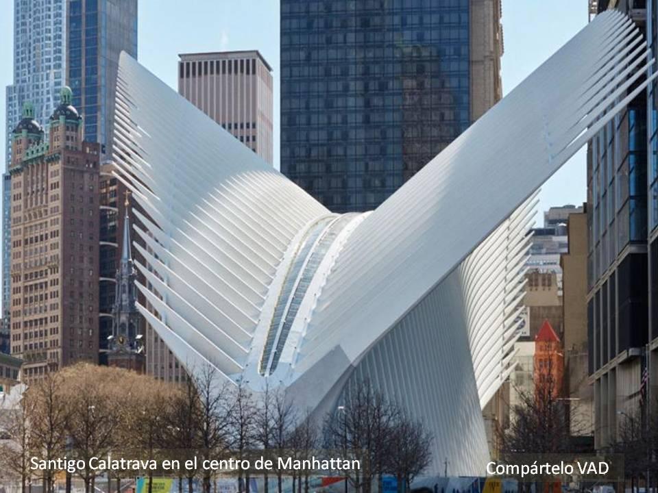 Arquitectura española en New York. Santigo Calatrava en el corazón ...