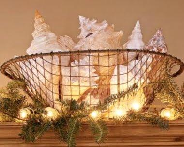 indoor Christmas lights idea