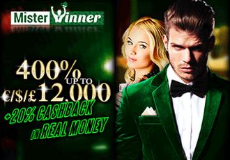 Mister Winner Casino Screen