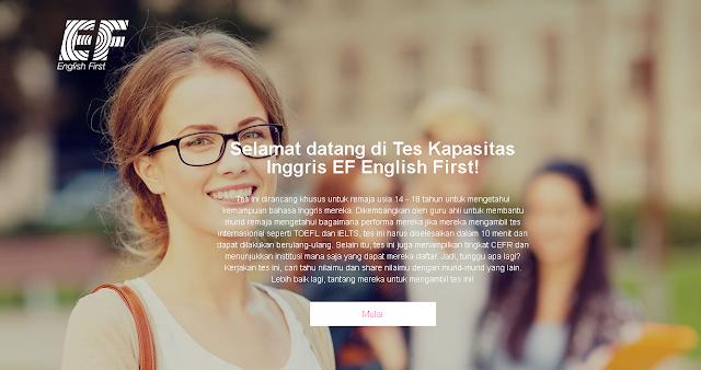 Tes Kemampuan Bahasa Inggris Gratis Dari EF
