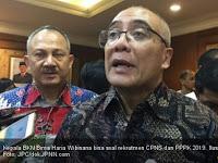 Informasi Terkini Penerimaan CPNS 2019 dan PPPK Tahap II dari BKN