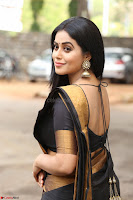 Poorna in Cute Backless Choli Saree Stunning Beauty at Avantika Movie platinum Disc Function ~  Exclusive 042.JPG