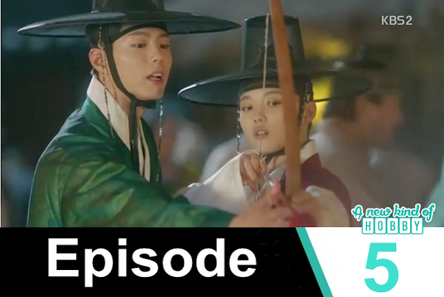 ra on with crown Prince at lantern festival - Love in The Moonlight - Episode 5 Review