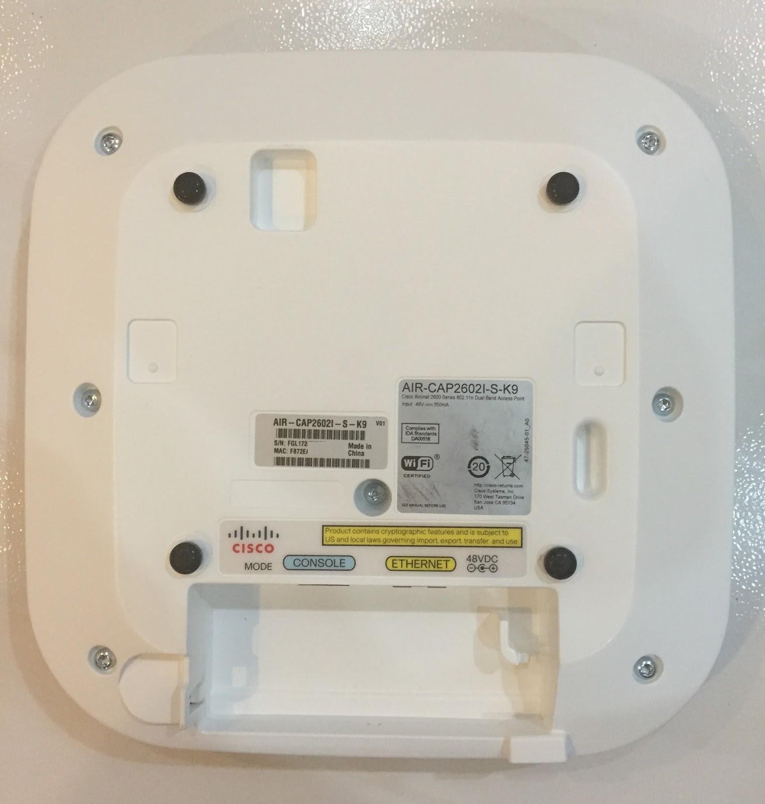 My CCNA Wireless Journal: Converting Cisco Lightweight to