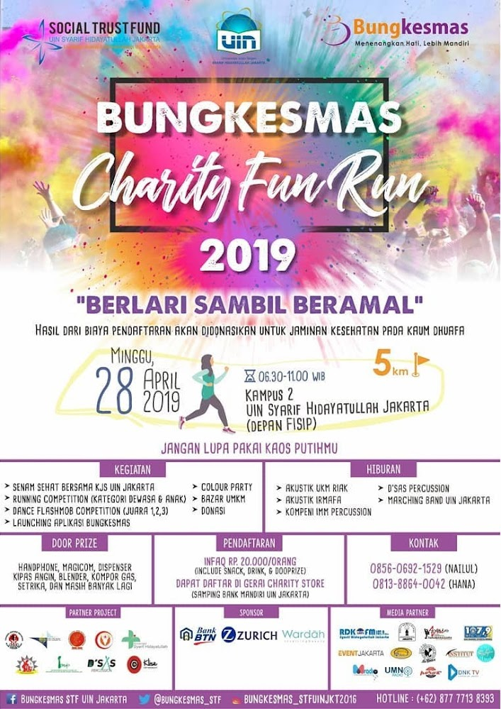 Bungkesmas Charity Fun Run • 2019