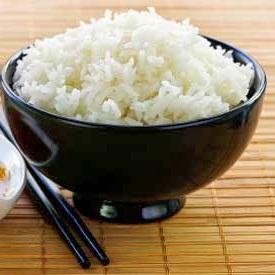 sonhar com arroz branco