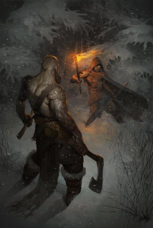 Stanislav Dikolenko artstation arte ilustrações fantasia sombria terror games