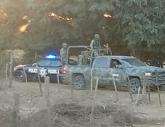 Fotografías Enfrentamiento con Militares deja dos personas muertas en poblado El Recreo
