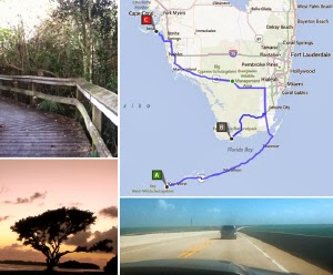 Route Florida Keys Everglades