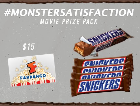 Enter the Snickers Movie Prize Pack Giveaway. Ends 3/18.