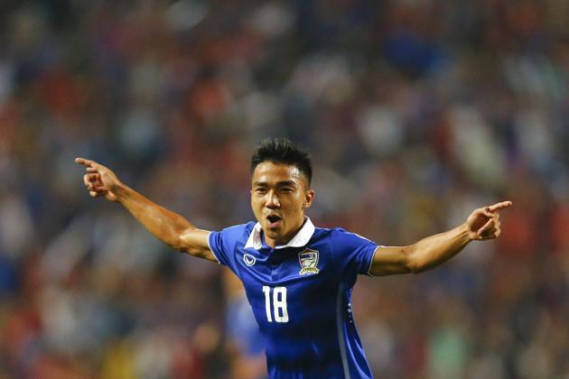 Biodata Lengkap Pemain Terbaik Piala AFF 2016 Chanathip Songkrasin