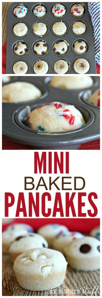 Mini Baked Pancakes