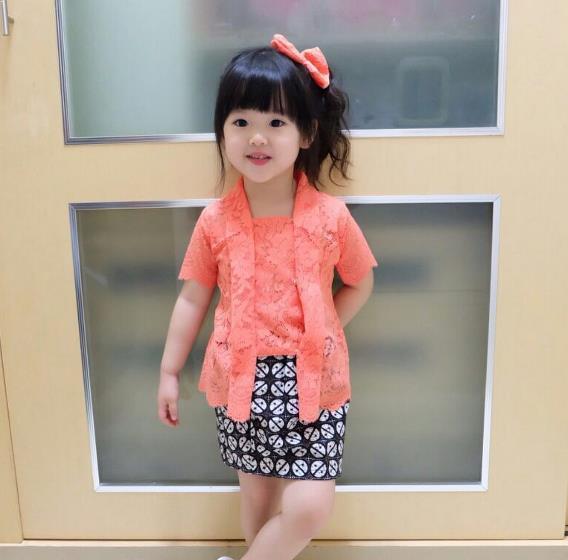 Model Kebaya Anak Kecil 2019 Model Kebaya Terbaru 2019