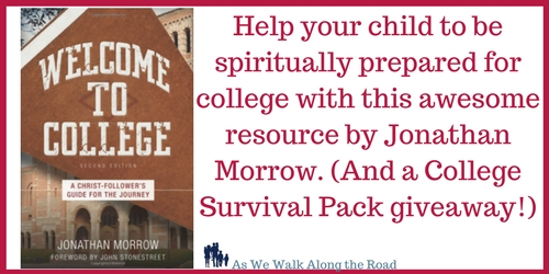 Spiritual preparation for college