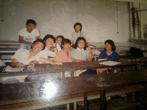 Ruang Kelas ITENAS Tempo Dulu