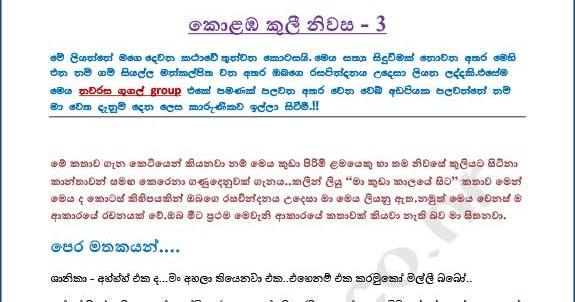 Wal Katha Lokaya Colombo Rent House 3 3