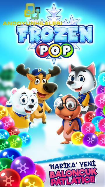 Frozen Pop v2.83 Para Ve Can Hileli