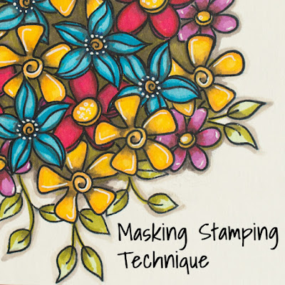 Masking Stamping Technique