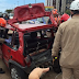 Motorista bate em carro, tenta fugir e causa outro acidente na Grande JP