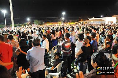 Encerramento do Chapadinha Para Cristo 2013