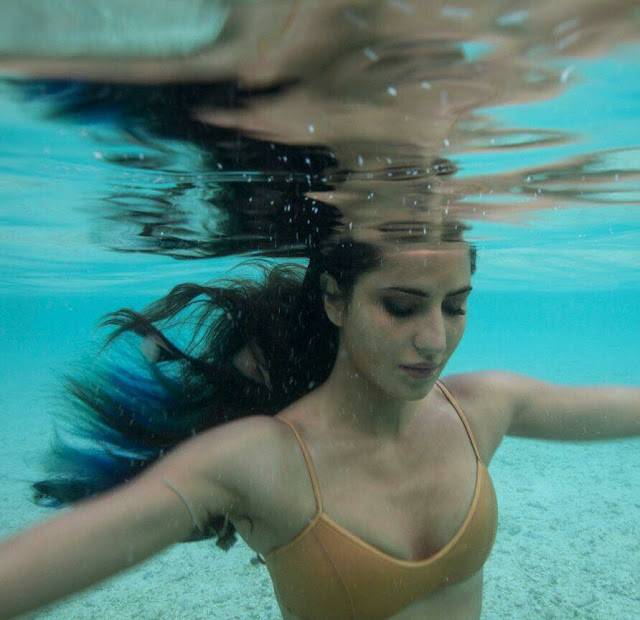 Katrina Kaif shared an under water pic, looking as beautiful as Mermaid