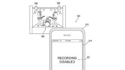 Apple Patent Would Block You From Taking Video at Concerts