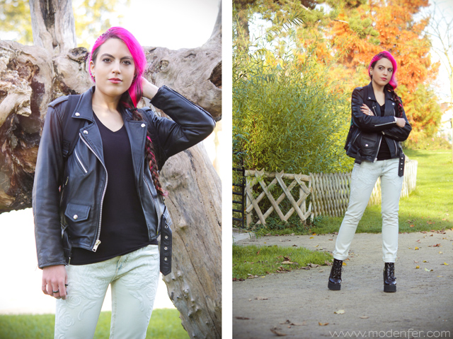 modenfer, blog, moda, mode, fashion, fashion blogger, fashion blog, alternative fashion, moda alternatywna, włosy, różowe włosy, pink hair, pastel hair, metal, metal girl, zakupy, lumpeks, zakupy lumpeksowe, second-hand, second-hand shopping, friperie, thrift, thrifted clothes, mr. gugu, mrgugu, mr. gugu & miss go, ubrnaia mr. gugu, plecak, plecak mr. gugu, backpack, mr. gugu clothes, collage, art, white, white jeans, kookai jeans, leather jacket, biker jacket, leather, cuir, perfecto, skórzana kurtka, kurtka motocyklowa, paris, france, french, parisian, francuski blog, paryski blog, blog paryż, paryż, francja, buty, underground, underground creepers, outfit, look, lookbook, tenue, tendances, artist, artist blog, daniel wellington, daniel wellington montre, zegarek daniel wellington, zegarek daniel wellington opinie, daniel wellington watch, dw watch