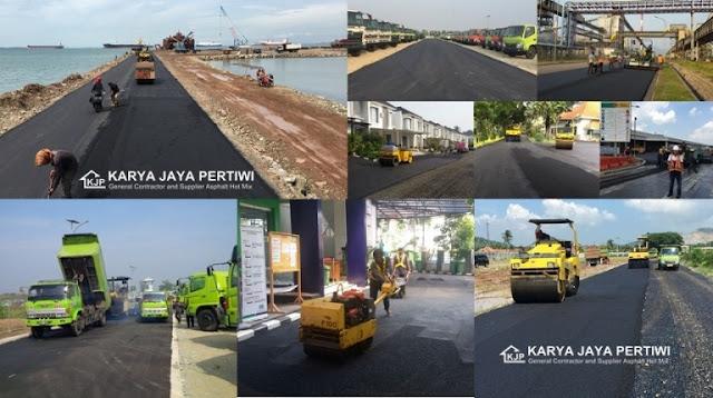 Jasa Aspal Hotmix, Jasa Pengaspalan Jalan, Kontraktor Aspal Hotmix, Pengaspalan Jalan, Jakarta banten Jawa Barat