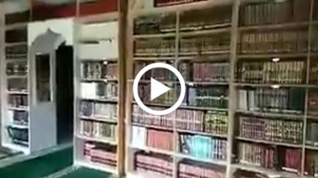 [VIDEO] Masya Allah.. Dipenuhi Ribuan Kitab, Inilah Isi Perpustakaan Pribadi Habib Rizieq