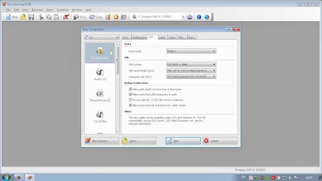 cara membakar file iso dengan aplikasi nero windows 7