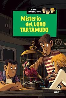 """""""Misterio del loro tartamudo"""" de Robert Arthur"""
