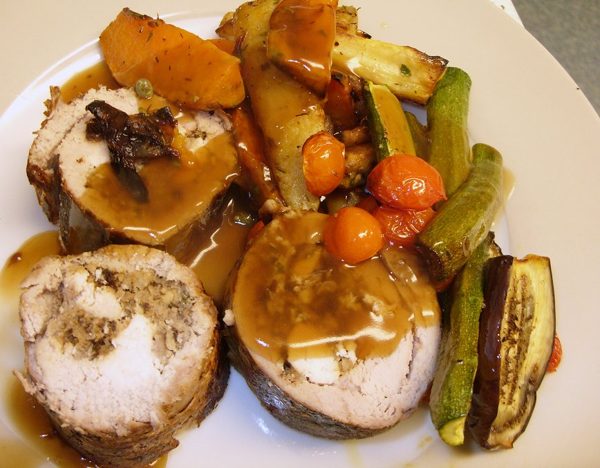 Jenny Eatwell S Rhubarb Amp Ginger Pork Ballotine For New Year S Day