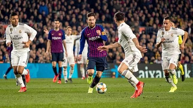 Skuad Lengkap El Clasico, Real Madrid Vs Barcelona