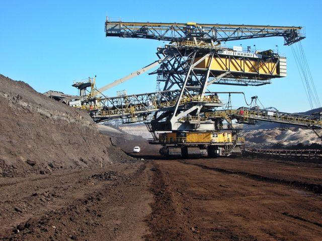 wydobycie węgla brunatnego, Niemcy