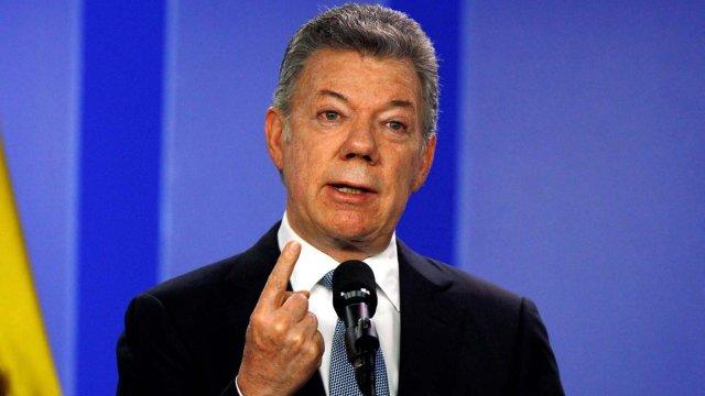 Juan Manuel Santos: El ejemplo más patético de corrupción está en Venezuela