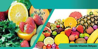 Günlük Vitamin İhtiyacı
