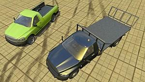 Single Cab and Platform Piqup cars