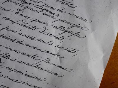 Französische Handschrift