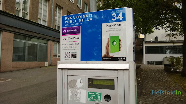 easy parking in Helsinki with the ParkMan app