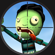Halloween Sniper : Scary Zombies Unlimited (Coins - Gems) MOD APK