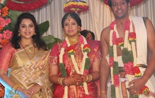 Sangavi And N Venkatesh Marriage Photos