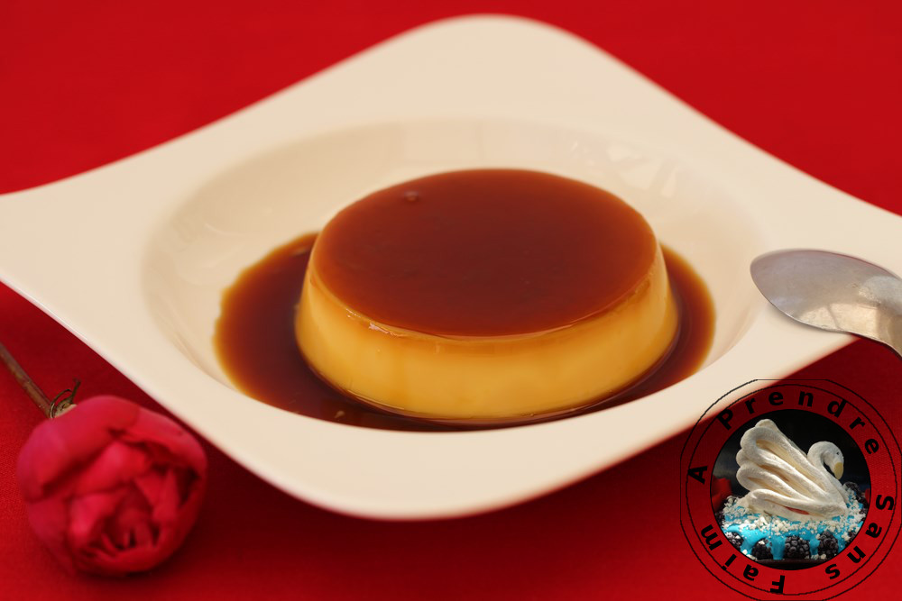 Crème renversée au caramel de Ferrandi