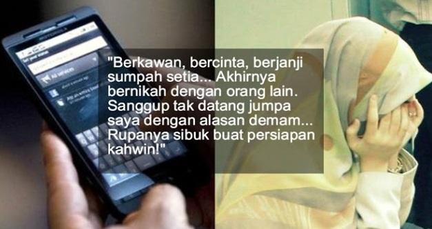 """""""Abang Akan Nikah Jumaat Ini"""" - KATA-KATA Teks WeChat Yang Membuat Wanita Ini TERSENTAP"""