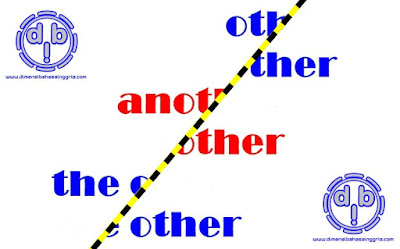 Fungsi dan Perbedaan Other, Another dan The Other sebagai Adjective dan Pronoun