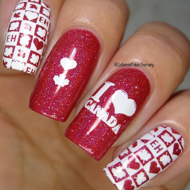 Paint It Pretty Polish - Keep Calm & Love Canada