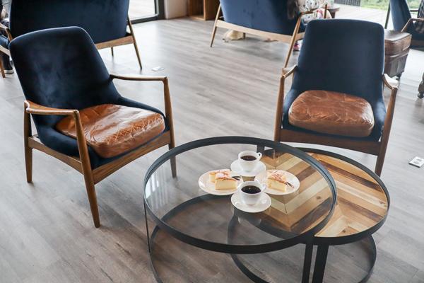 南投魚池鹿篙咖啡莊園環境舒適視野好,喝下午茶休閒好去處