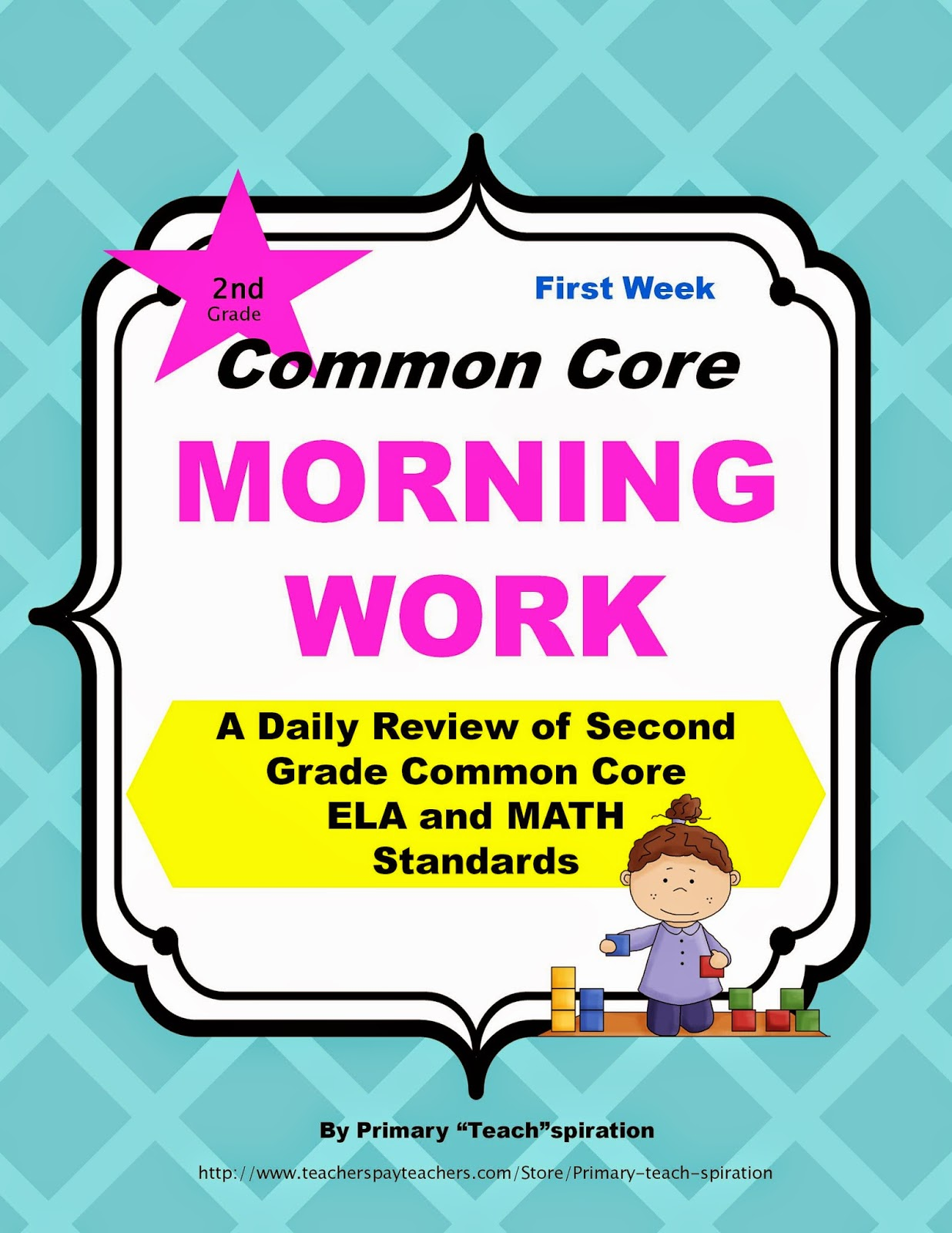 Grab this Free Morning Work and read about an easy and effective way to make sure your first graders are learning the Common Core skills. #secondgradecommoncore, #secondgrademorningroutine, #freemorningwork